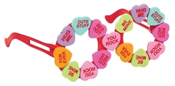 Candy Heart Glasses | Party Supplies