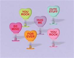Candy Heart Pop-Up Favors | Party Supplies