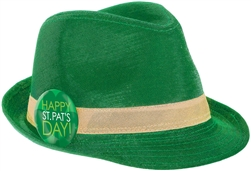 St. Patrick's Day Shimmer Fedora | Party Supplies