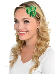 Shamrock Elastic Hairband | Party Supplies