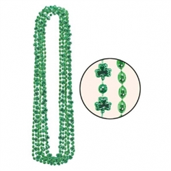Shamrock Multipack Bead Necklaces | Party Supplies