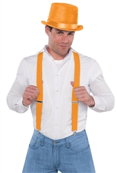 Orange Suspenders | Party Supplies