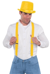 Yellow Suspenders | Party Supplies