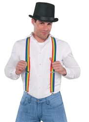 Rainbow Suspenders | Party Supplies