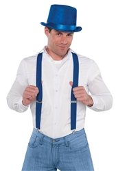 Blue Suspenders | Party Supplies