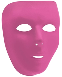 Pink Full Face Mask | Party Supplies