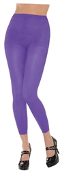 Purple Footless Tights | Party Supplies