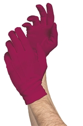 Burgundy Classic Gloves