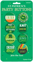 St. Patrick's Day Party Buttons | party supplies