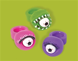Halloween Squeeze Pop Eyes Ring
