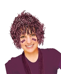 Burgundy Fun Wig | Party Supplies
