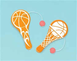 Basketball Fan Paddle Ball Favors | Party Supplies