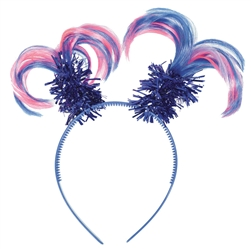 Rainbow Ponytail Headbopper | Party Supplies