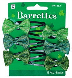 St. Patrick's Day Barrettes | party supplies
