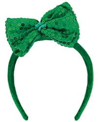 St. Patrick's Day Bow Headband | party supplies