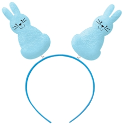 Bunny Silhouettes Headbopper - Blue | Party Supplies