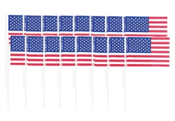 American Flag Picks | Party Supplies