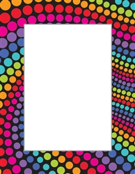 Rainbow Dot Laser Sheets | Party Supplies