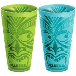 Tiki Molded 20 oz. Tumbler | Party Cups