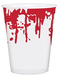 Blood Splattered Printed Cups | Party Supplies