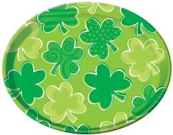 St. Patrick's Day Round Platter | Party supplies