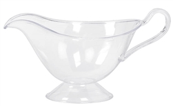 Harvest Gravy Clear Plastic Bowl | Party Supplies