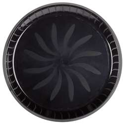 Swirl Tray - Black | Party Supplies