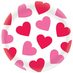 Valentine Round Platter | Party Supplies