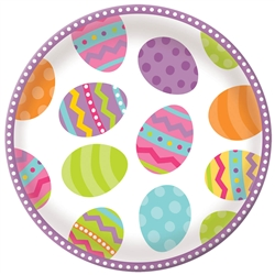 Easter Round Serving Platter | Party Supplies