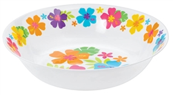 Hibiscus White Bowls | Luau Party Supplies