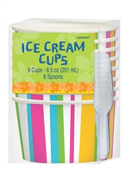 Summer Ice Cream Cups | Summer Supplies