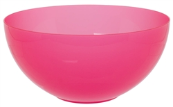 "Pink 10"" Large Serving Bowl 