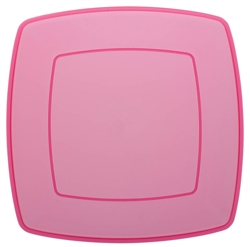 "Pink 14"" Serving Tray 