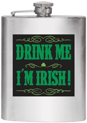 St. Patrick's Day Flask | Party Supplies