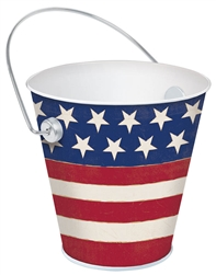 Americana Bucket - Stars | Party Supplies