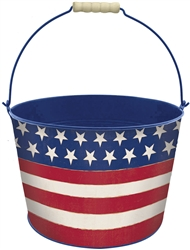 Americana Large Bucket | Party Supplies