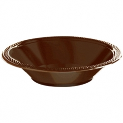 Chocolate Brown 12 oz. Bowls - 20ct. | Party Supplies