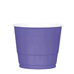 New Purple 9 oz. Plastic Cups  - 20ct | Party Supplies