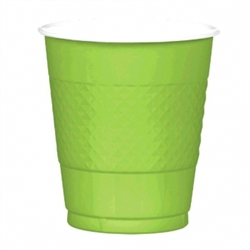 Kiwi Plastic 12 oz. Cups | St. Patrick's Day Tableware