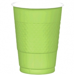 Kiwi Plastic 16 oz. Cups | St. Patrick's Day Tableware
