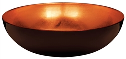 Elegant Fall Bowl - Orange/Brown | Party Supplies