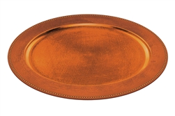 Elegant Fall Oval Platter - Orange | Party Supplies