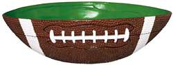 Football Large Plastic Bowl | Party Supplies