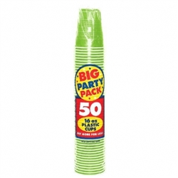 Kiwi Big Party Packs 16 oz. Cups | Party Supplies