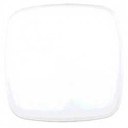 Square Platter - White | Party Supplies