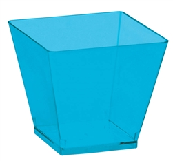 Caribbean Blue 2 oz. Mini Cubes | Party Supplies
