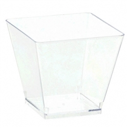 Clear Mini Plastic Cube | Party Supplies