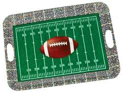Football Large Plastic Serving Tray | Party Supplies