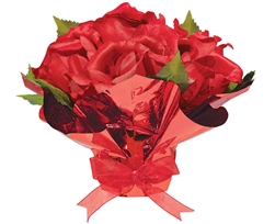 Valentine Rose Floral Centerpiece | Party Supplies