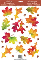 Autumn Breeze Window Decorations | Party Supplies